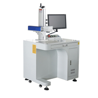 20w 30w Desktop Fiber Laser Marking Machine for Metal Plastic
